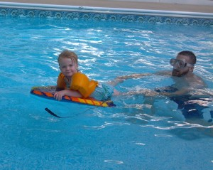Swimming over Labor Day weekend