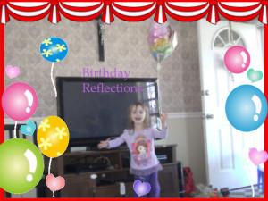 Birthday Reflections