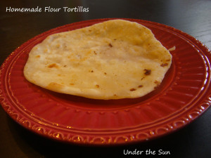 Homemade Flour Torillas