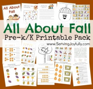 Fall Printable Pack- Serving Joyfully