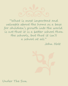 What I Have Learned From You, The Homeschooling Community
