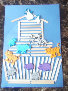Teaching Noah's Ark Through Crafts