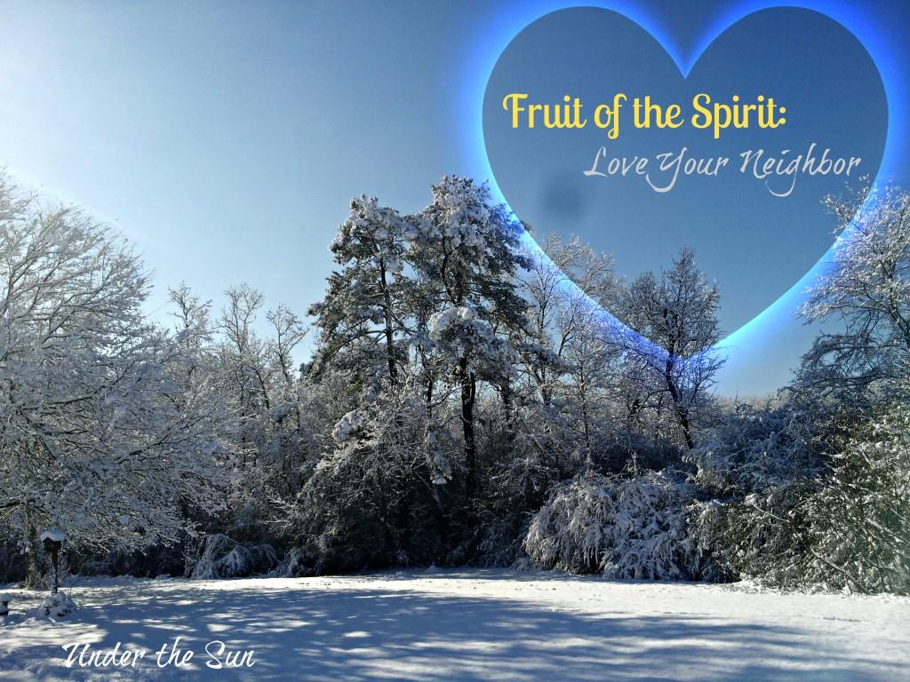 Fruit of the Spirit: Love Your Neighbor